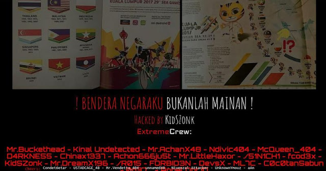 Sea games, Hacker, Indonesia, malaysia, Bonepos