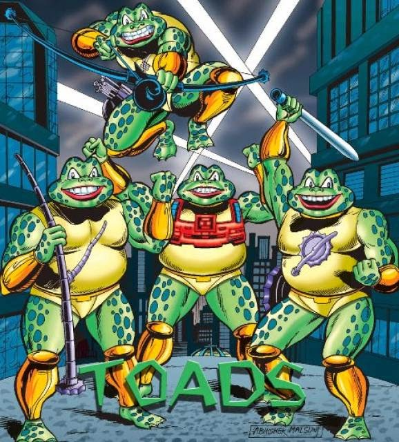 Fighter Toads in Action