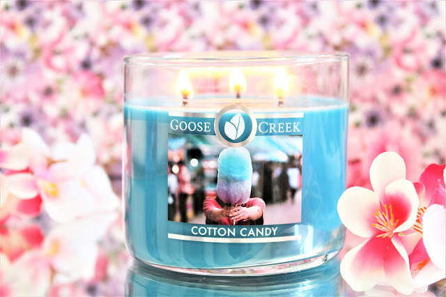 Goose Creek Cotton Candy avis, cotton candy goose greek avis, bougie parfumée cotton candy, bougie parfumée à la barbe à papa, bougie cotton candy, cotton candy candle, bougie goose creek