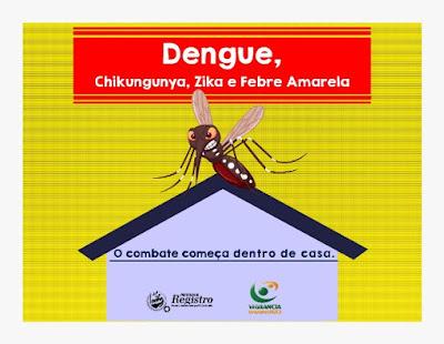 Sobe para 68 os casos positivos de Dengue em Registro-SP