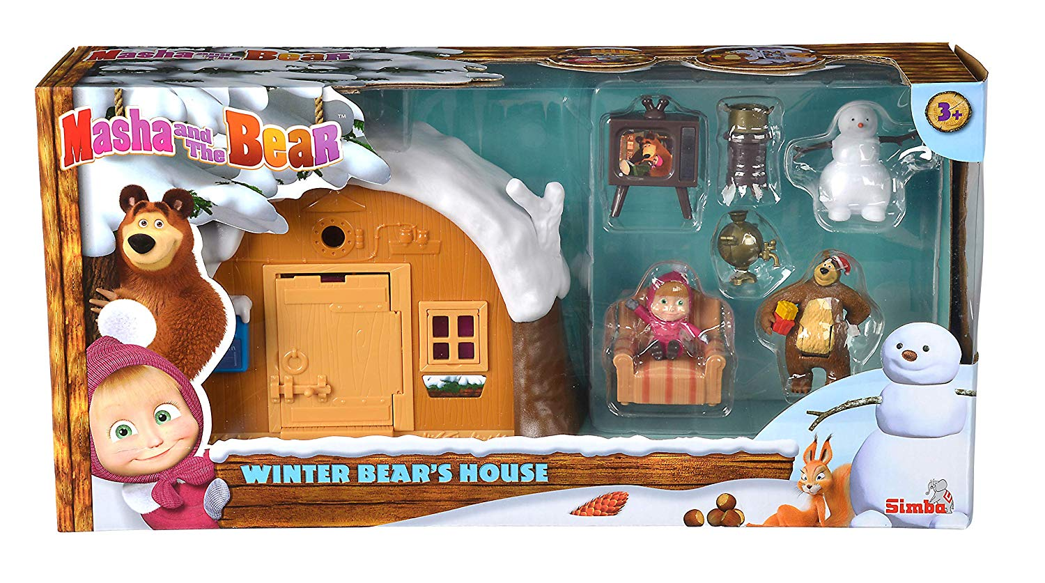 Winter Bears House Masha and Bear