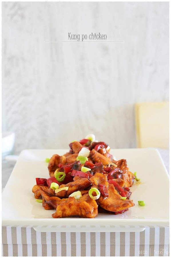 kung pao chicken- Kung po chichen- Pollo kung pao: receta de un auténtico plato chino en casa