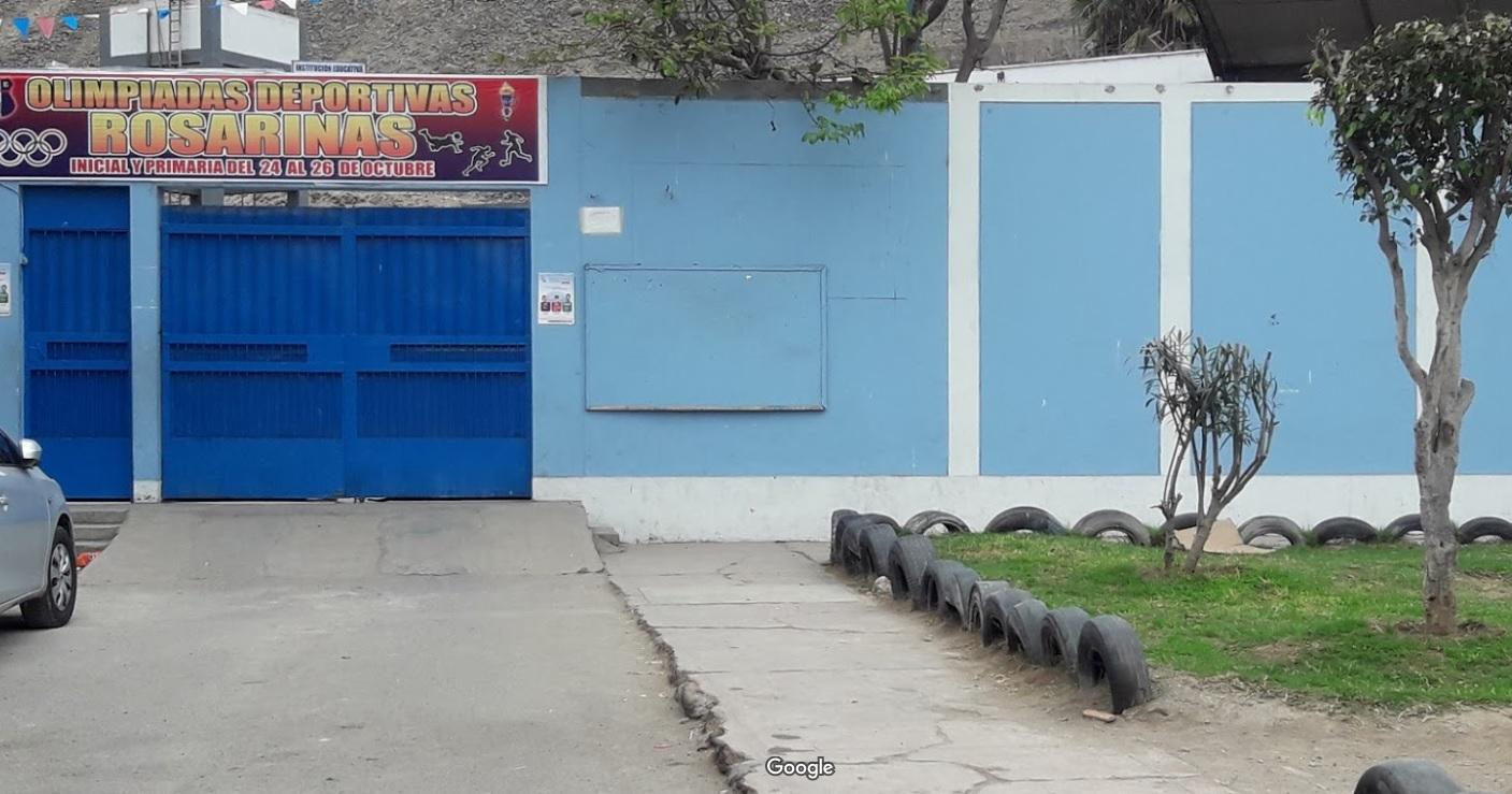 Escuela 2008 EL ROSARIO - San Martín de Porres