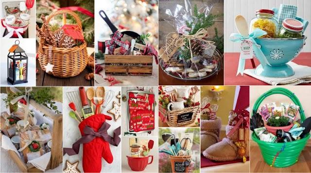Πρωτότυπα Χριστουγεννιάτικα Καλάθια Δώρων