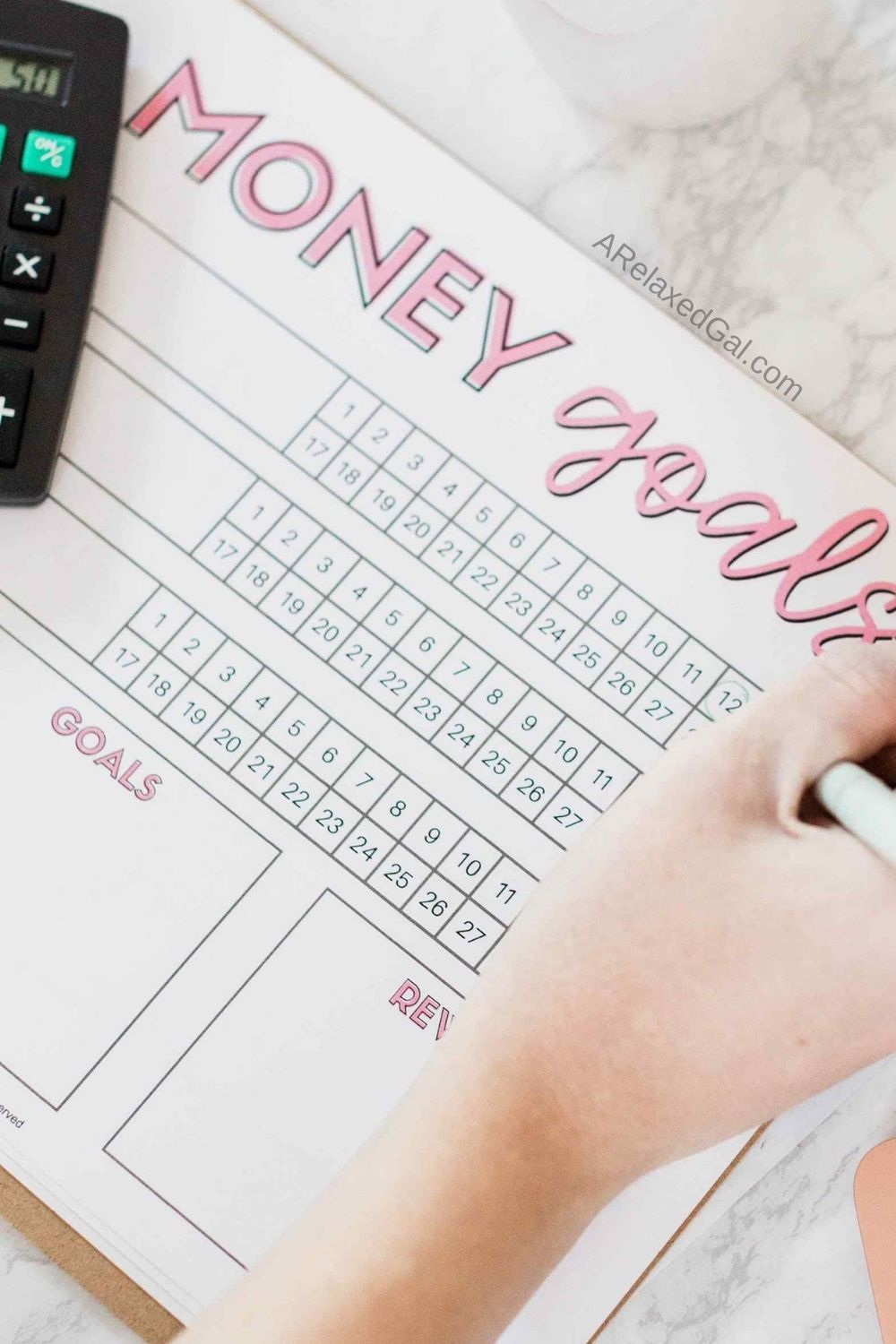 How To Reset Your Personal Budget For The New Year | A Relaxed Gal