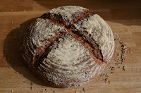 SOURDOUGH BREAD WITH RYE AND SPELT