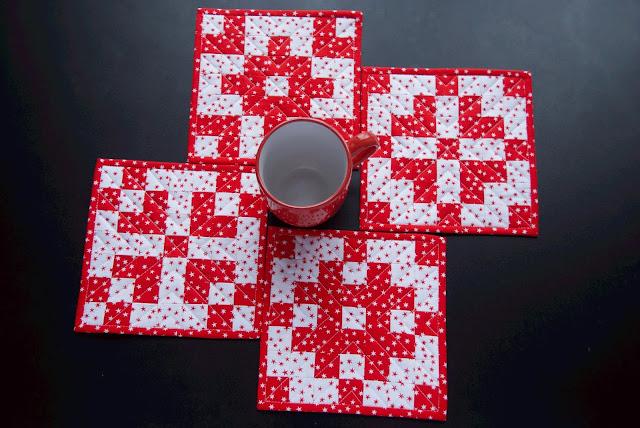 Christmas patchwork decor