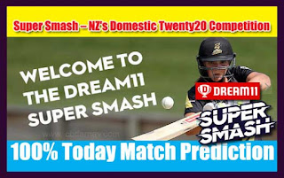 Who will win Today Super Smash T20, 12th Match WEL vs CD - Cricfrog