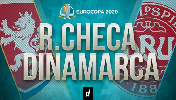 Dinamarca vs. República Checa EN VIVO: transmisión de la Eurocopa 2021