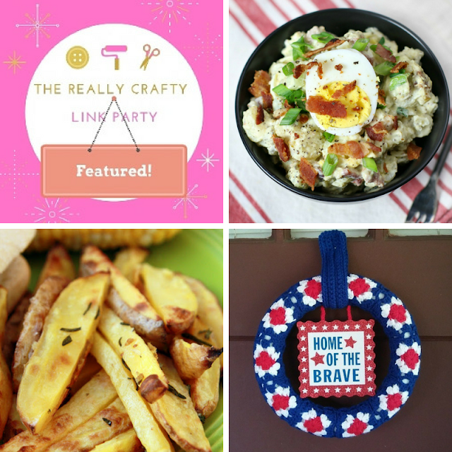The Really Crafty Link Party #122 featured posts