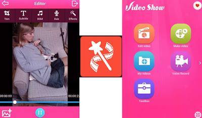 تطبيق فيديوشو video show