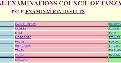 NEWS | Matokeo ya Darasa la saba 2019 – NECTA PSLE Results 2019