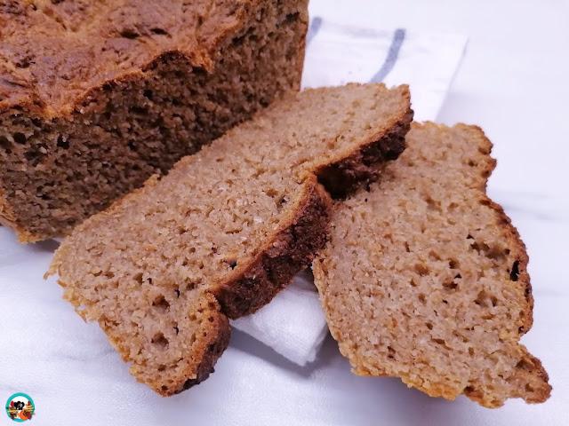 Pan de centeno sin amasar