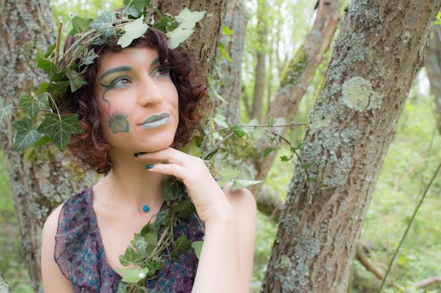 maquillage yeux vert emeraude msc