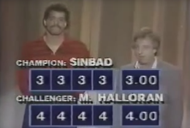 Watch M.A.S.K. Voice Actor Mark Halloran Defeat Sinbad On Star Search