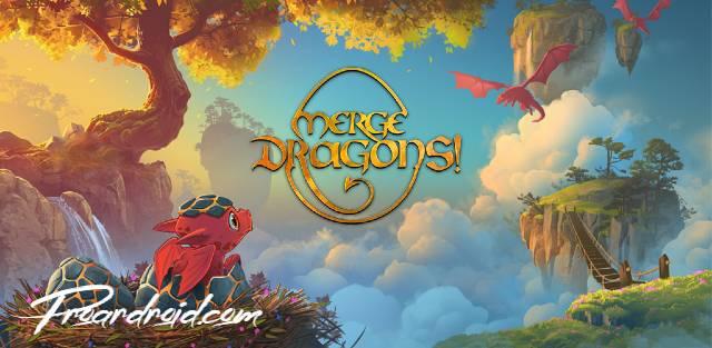 تحميل لعبة الالغاز الممتعة Merge Dragons! النسخة المهكرة للاجهزة الاندرويد برابط مباشر سريع.