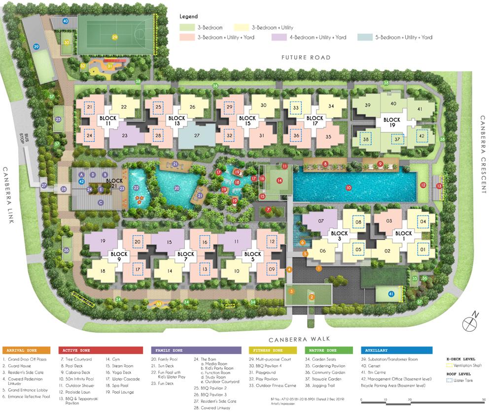 Parc Canberra EC - Site Plan