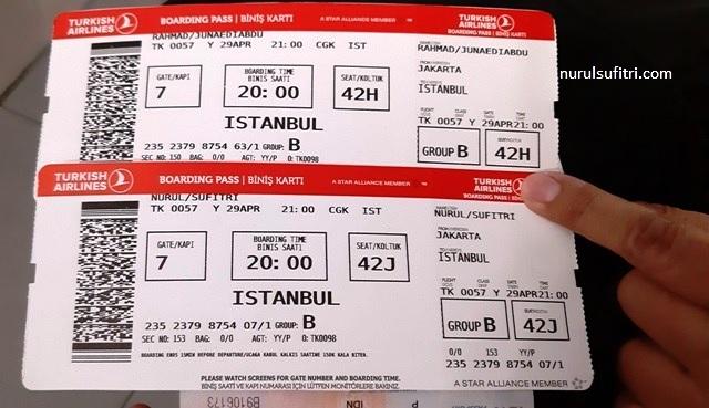 Pengalaman Terbang Naik Turkish Airlines 12 Jam Di Pesawat Ngapain Aja Nurul Sufitri S Blog