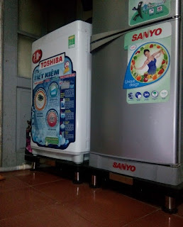 Bán chân đế kệ đa năng kê cho máy giặt, tủ lạnh tại Hà Nội