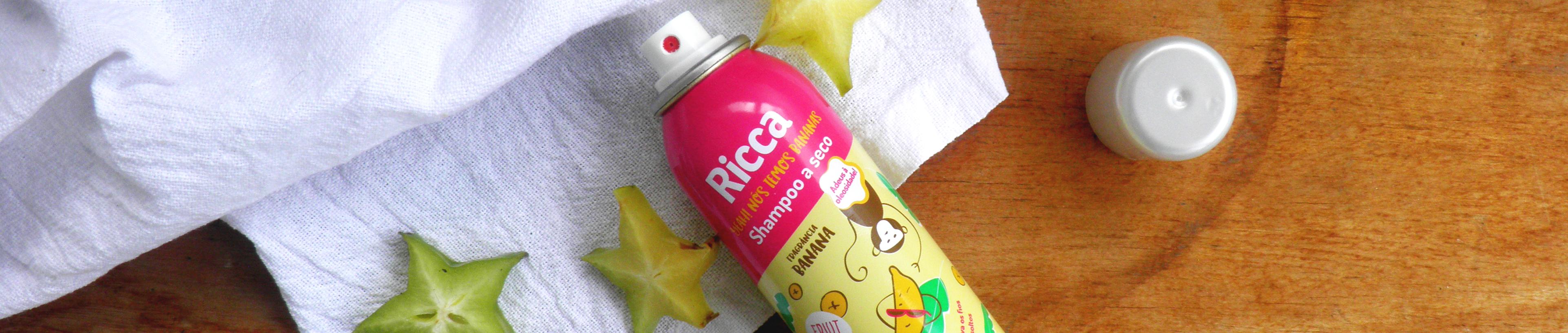 Ingredientes da Composição do Shampoo a Seco Ricca - resenha Cabeleira em Pé