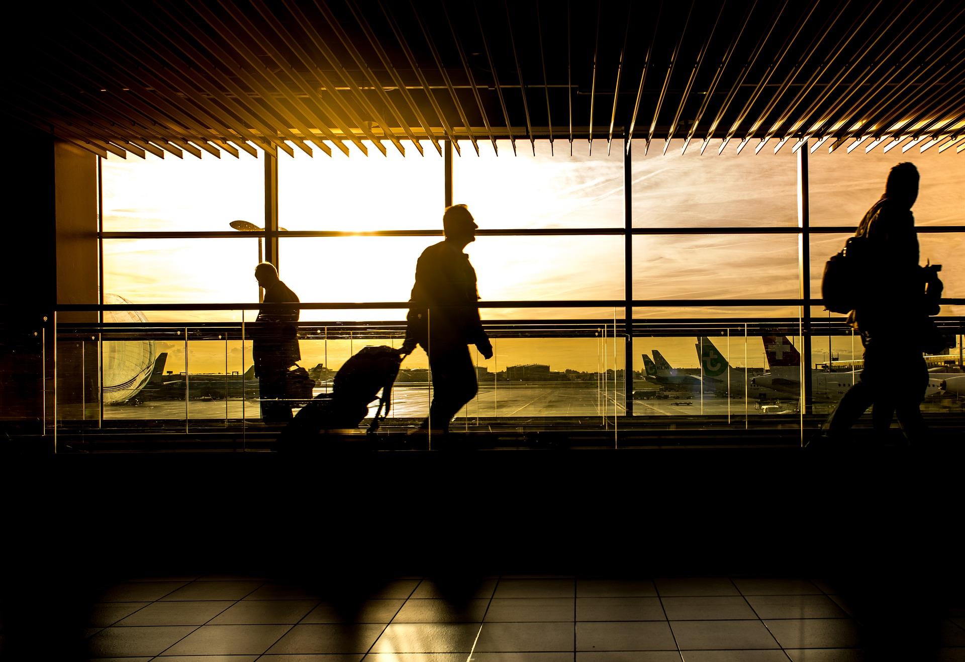 Troca de aeroporto