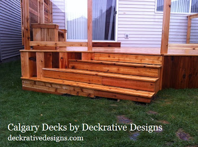 calgary deck and fence design
