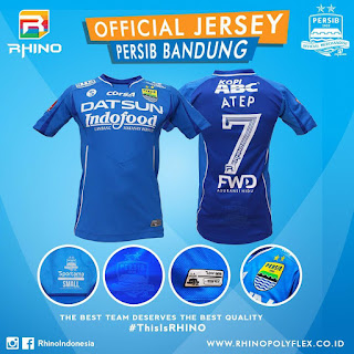 Jersey Persib Home Official 2016 2017