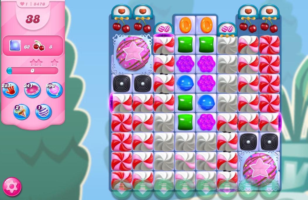 Candy Crush Saga level 8470