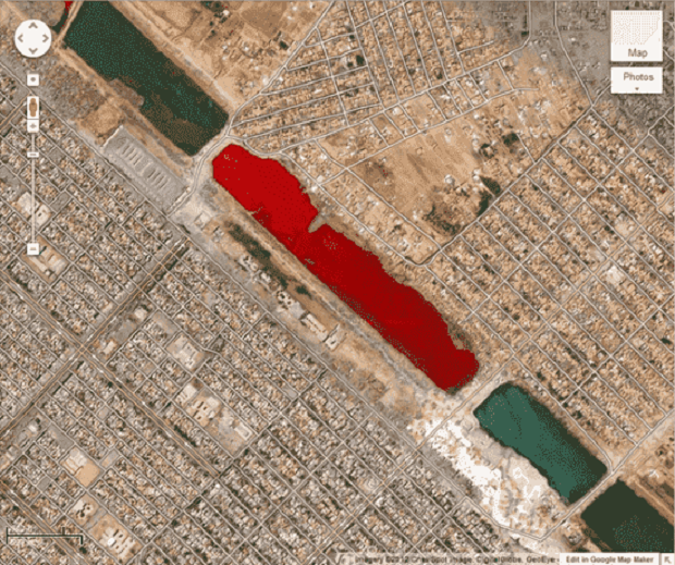WOW ! Pernahkah Anda Melihat ? 10 Penampakan Aneh dan Menyeramkan Tertangkap Google Earth