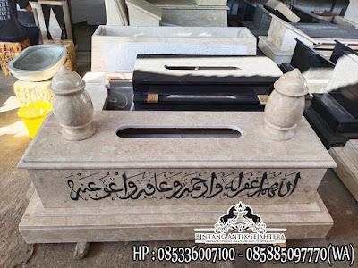 Kijing Makam Marmer, Produk Makam Tulungagung, Model Kijing Marmer Terbaru