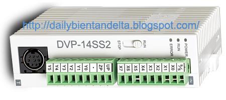 Đại lý bán PLC Delta DVP14SS211T / DVP14SS211R hàng chính hãng, giá rẻ