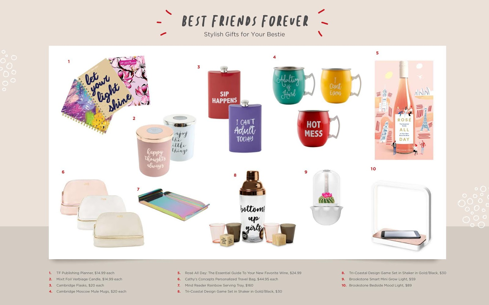 Christmas Gifts for Besties