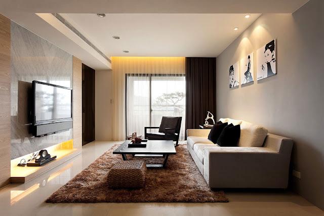 Kerala home modern living room