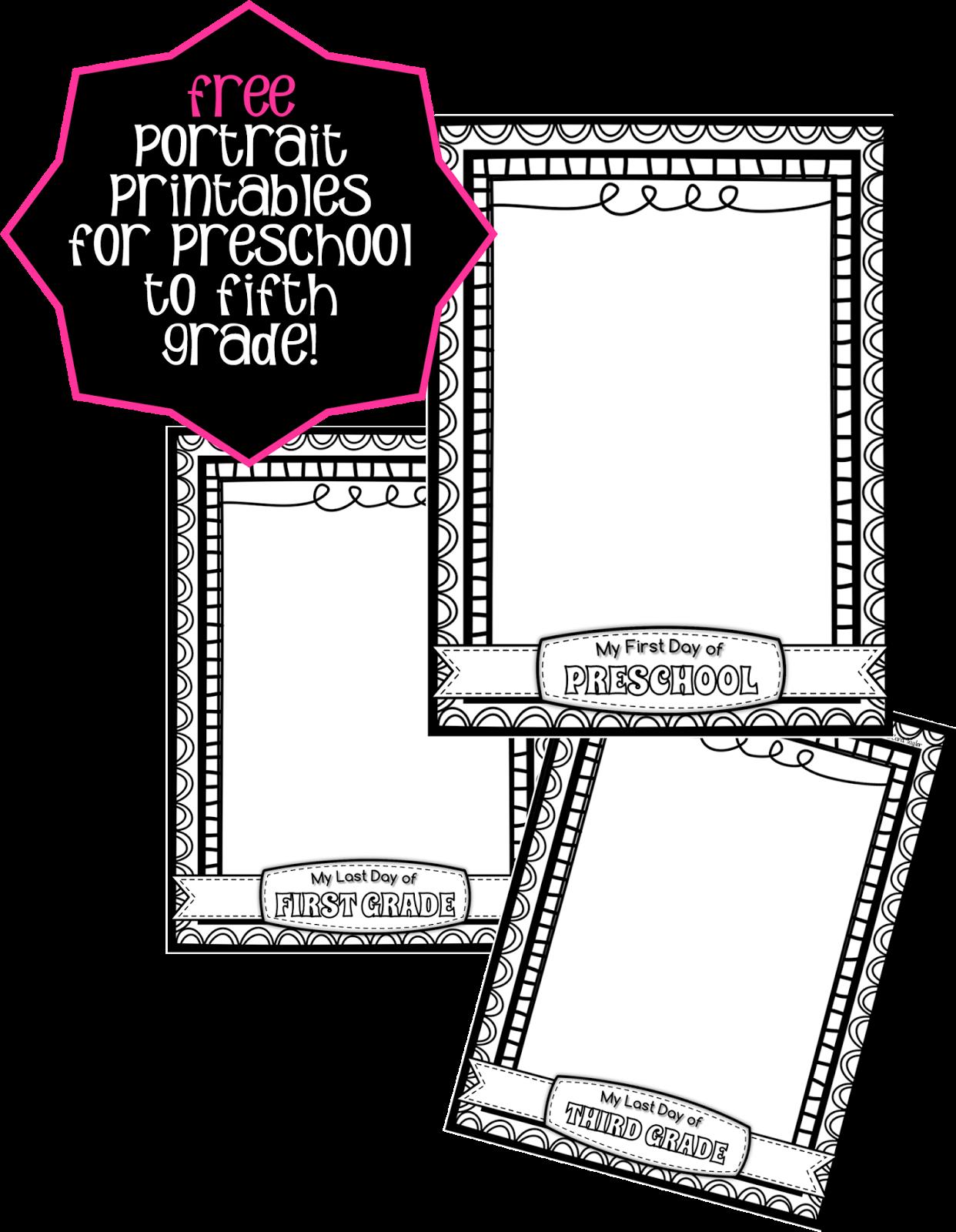 Creative Playground Free Back To School Printables