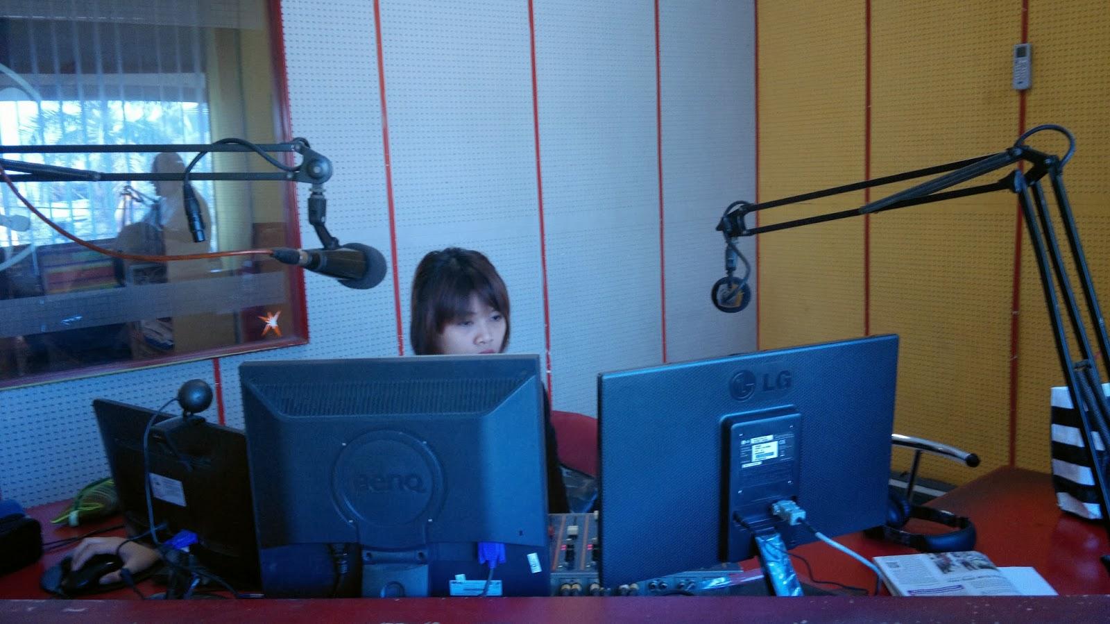 Radio Branding Materials Studio Office Interior Prambors Radio
