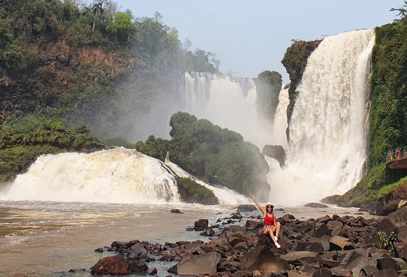 Cataratas Paraguai Saltos Monday