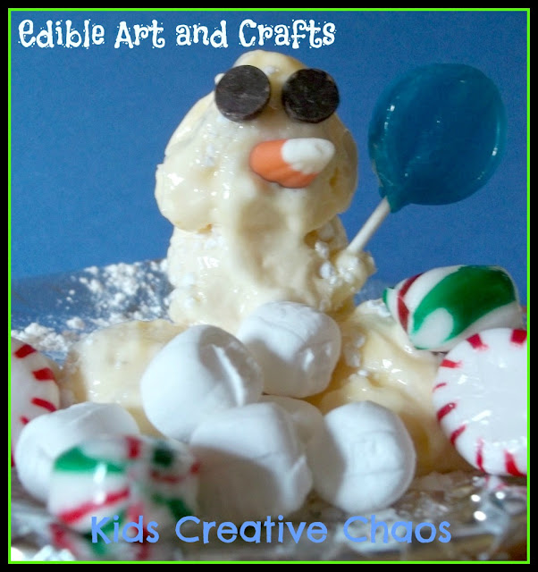 Eatable Edible Art and Craft Ideas for Children