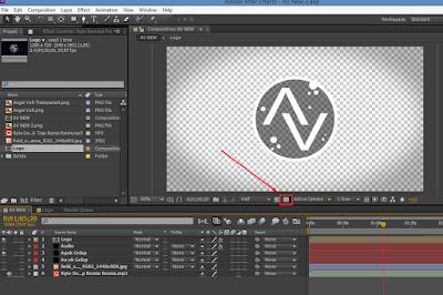 Cara Membuat Background Video Transparan di After Effects 11
