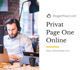 Kursus privat page one Google online dengan mentor berpengalaman