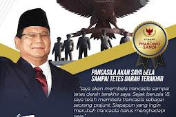 Debat Keempat, Demi Bela NKRI, Prabowo: Saya Pertaruhkan Nyawa Di TNI