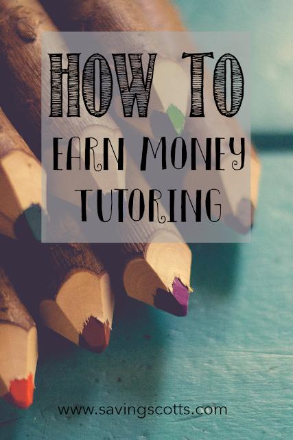 earn money  tutoring
