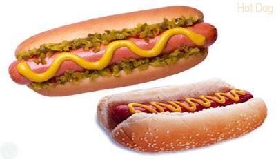 Hot dog, hot dog food