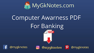 Computer Awarness PDF For Banking