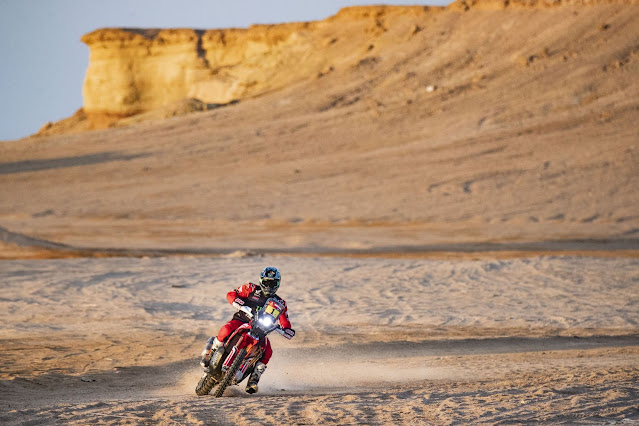 HRC Rally Dakar 2021 - Triumphant Double Victory for Honda
