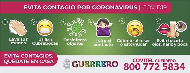 Mira, así evitas el contagio de COVID19