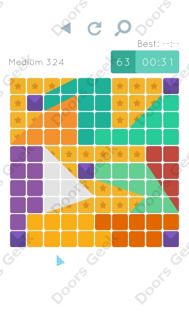 Cheats, Walkthrough for Blocks and Shapes Medium Level 324