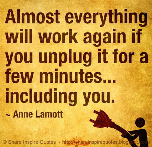 Almost everything will work again if you unplug it for a