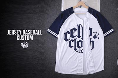 Tampil Keren dan Casual dengan Jersey Baseball Style Custom