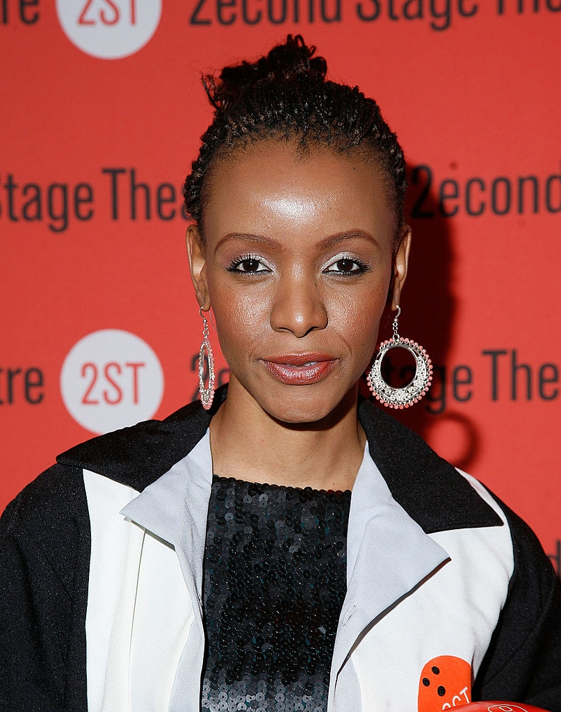 Mpule Kwelagobe attends the Second Stage Theatre's 25th Annual All-Star Bowling Classic at Lucky Strike Lanes & Lounge on February 6, 2012 in New York City. (Photo by Andy Kropa/Getty Images)