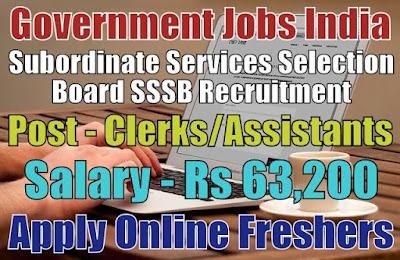 SSSB Recruitment 2019
